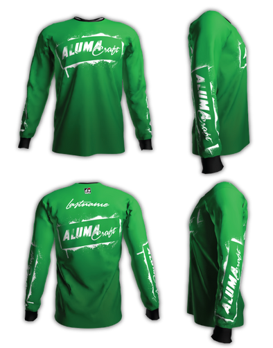 Alumacraft Personalized Long Sleeve Jersey Style 3