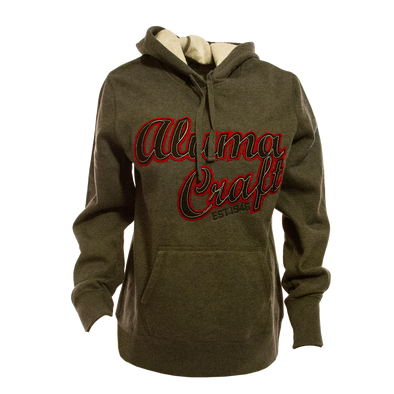 Ladies Applique Hoodie