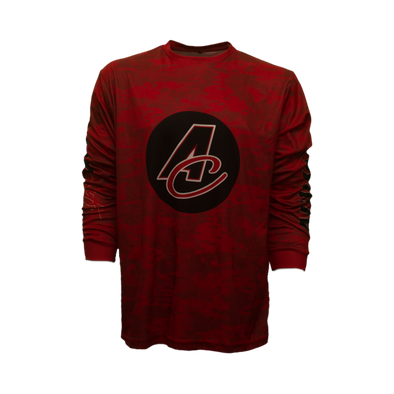 Digi-Camo AC Logo Long Sleeve Performance Tee