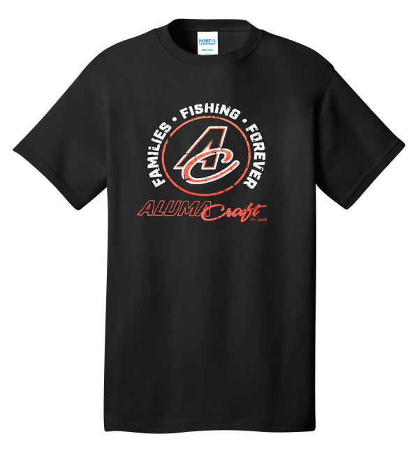 New A/C Circle Distressed Logo Tee