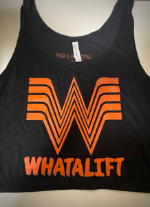 Woman's Flowy Crop Tank