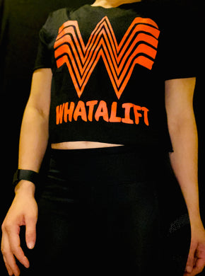 Womens WhataLift Crop