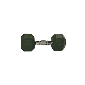 Troy Rubber Hex Dumbbell 15 Lbs.