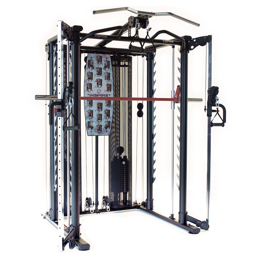 Inspire SCS2 Power Rack con Smith Bar y Dual Pulley System Fitness For Life Puerto Rico
