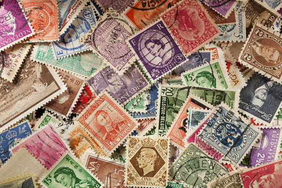 Postal Stamps - a family collection