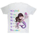 MAGICAL ELEGANT Sublimation Performance Adult T-Shirt