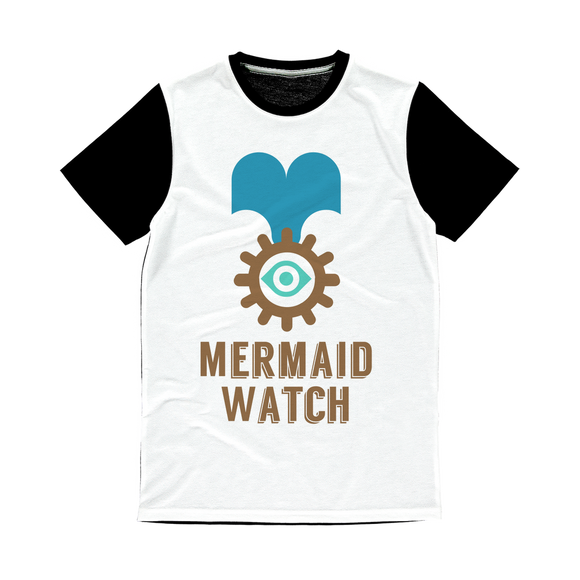 MERMAID WATCH Classic Sublimation Panel T-Shirt