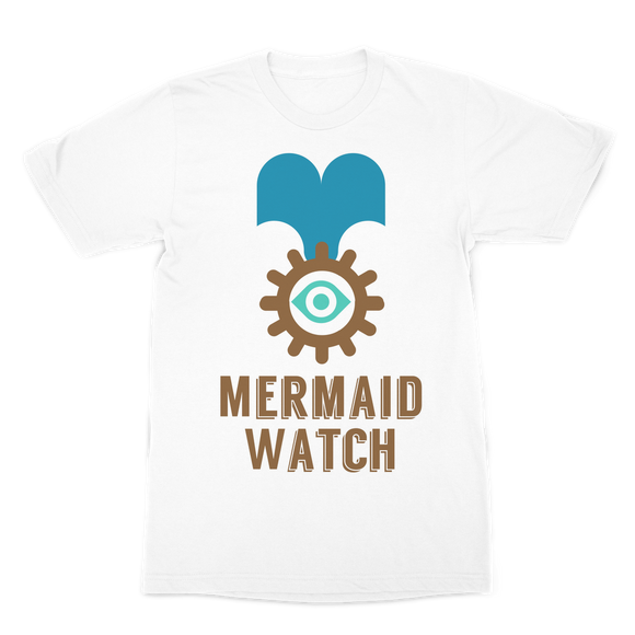 MERMAID WATCH Premium Sublimation Adult T-Shirt