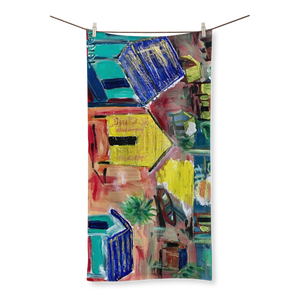 Yolanda Padial - El sol está que arde Sublimation All Over Towel