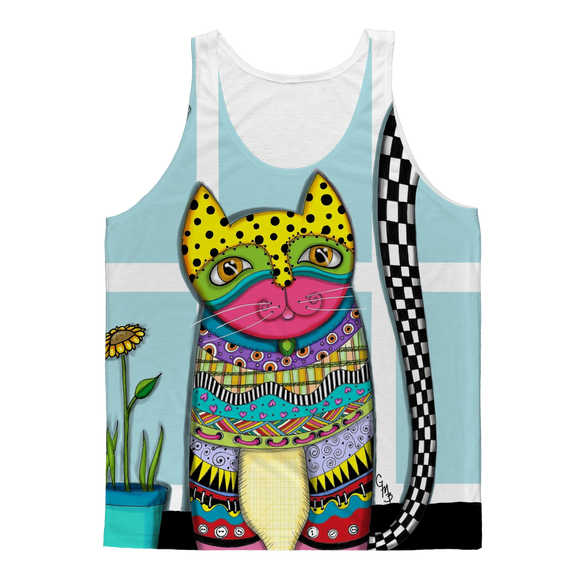 CAT MISUK Classic Sublimation Adult Tank Top