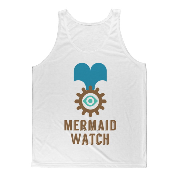 MERMAID WATCH Classic Sublimation Adult Tank Top