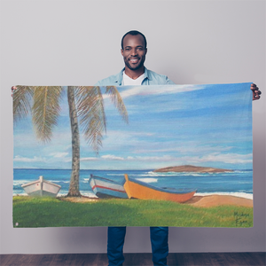 MANUEL - BOTE PLAYA CAMUY Sublimation Flag