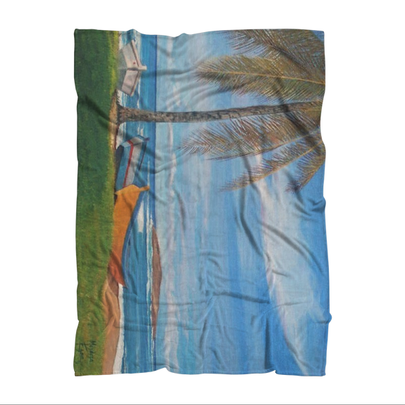 MANUEL - BOTE PLAYA CAMUY Sublimation Adult Blanket