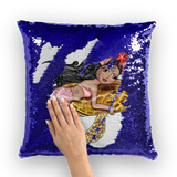 SOLYMAR SIRENA Sequin Cushion Cover