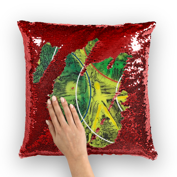 NEVAREZ - ESTELAR Sequin Cushion Cover