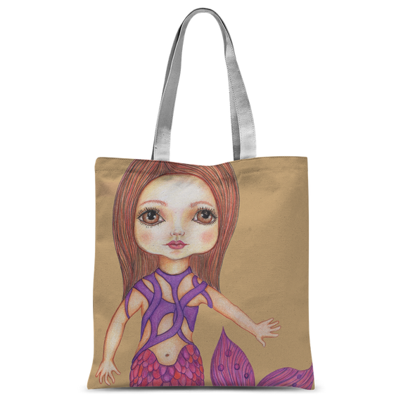 JULIA MERMAID Classic Sublimation Tote Bag