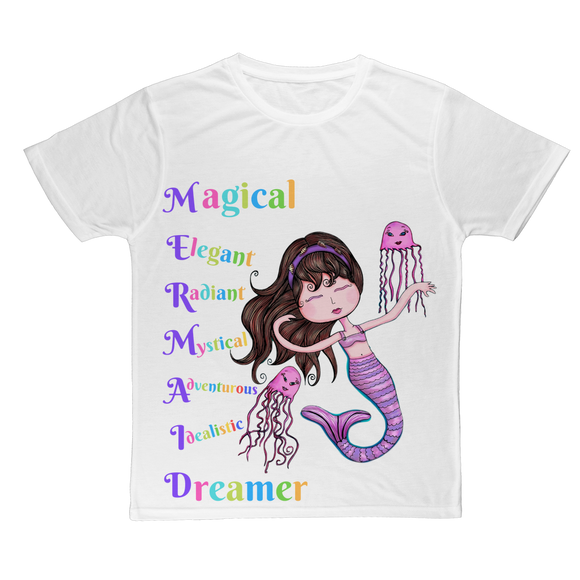 MAGICAL ELEGANT Classic Sublimation Adult T-Shirt
