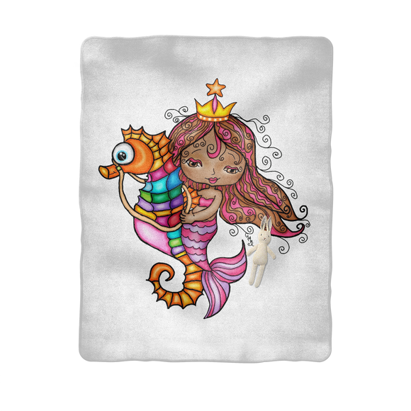MARIMAR SIRENA Sublimation Baby Blanket
