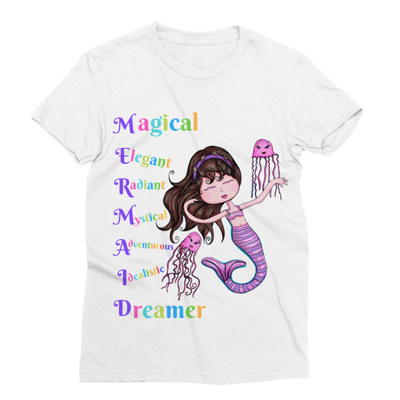 MAGICAL ELEGANT Classic Sublimation Women's T-Shirt