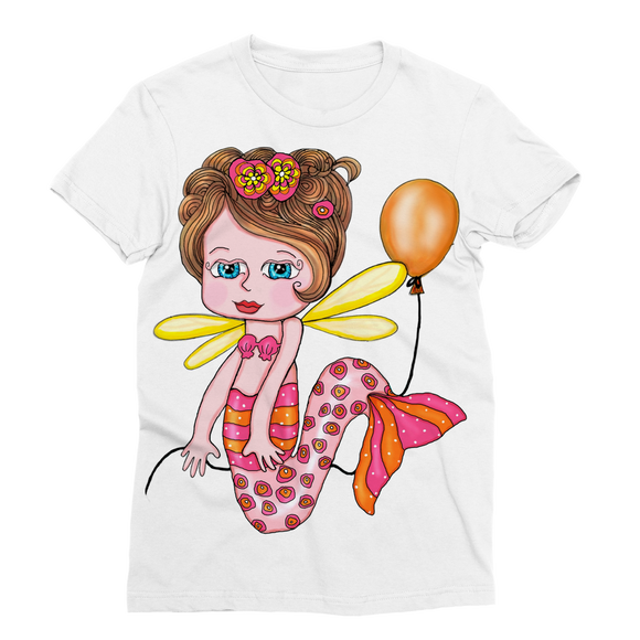 NELLY SIRENA Classic Sublimation Women's T-Shirt