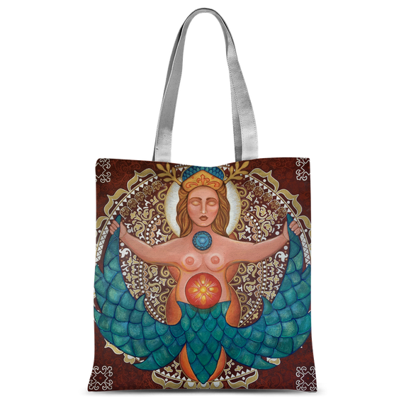 CROATIA MERMAID Classic Sublimation Tote Bag