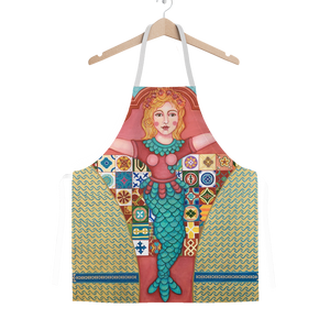 PUERTO RICO MERMAID Classic Sublimation Adult Apron