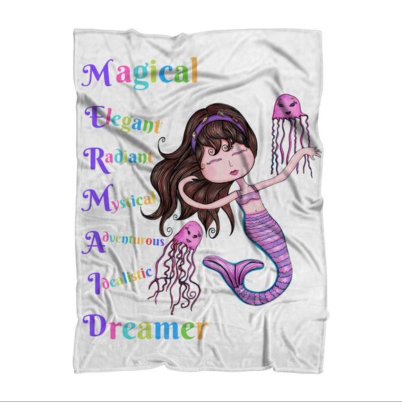 MAGICAL ELEGANT Sublimation Adult Blanket