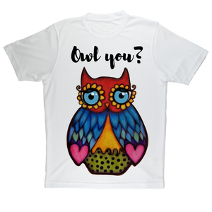 Owl you_  Sublimation Performance Adult T-Shirt