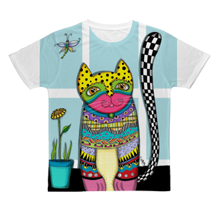 CAT MISUK Classic Sublimation Adult T-Shirt