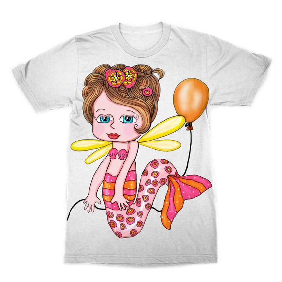 NELLY SIRENA Premium Sublimation Adult T-Shirt