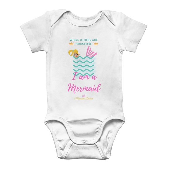 I am a Mermaid (1) Classic Baby Onesie Bodysuit