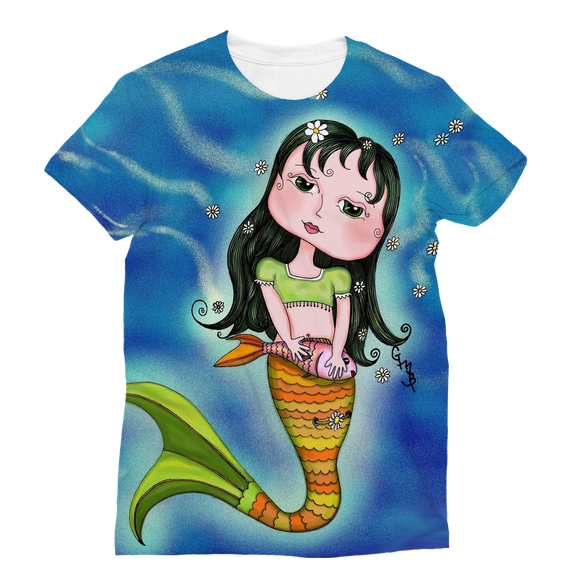 ADRIANA MERMAID Classic Sublimation Women's T-Shirt