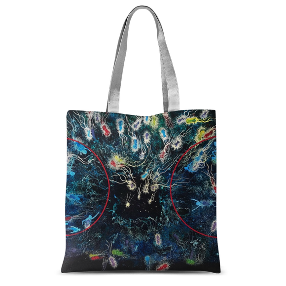 NEVAREZ - ORIGEN VIDA II Classic Sublimation Tote Bag