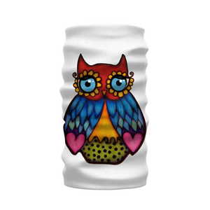 DAISY OWL Sublimation Neck Warmer Morf Scarf