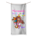 MERMAIDS HAVE MUCH MORE FUN Sublimation All Over Towel