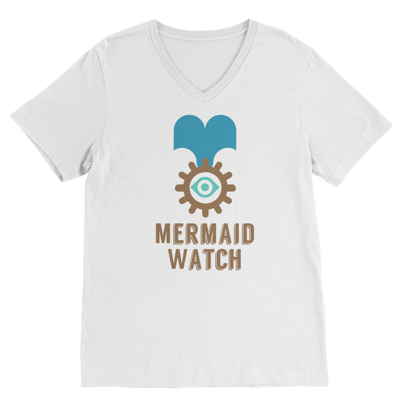 MERMAID WATCH Premium V-Neck T-Shirt