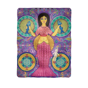 SPANISH MERMAID Sublimation Baby Blanket