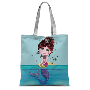 ANDREA MERMAID Classic Sublimation Tote Bag