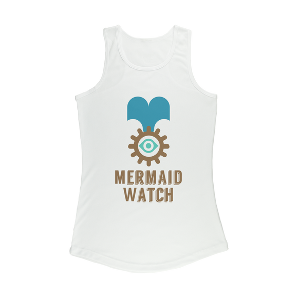 MERMAID WATCH Women Performance Tank Top