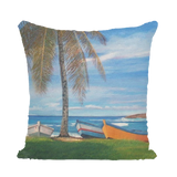 MANUEL - BOTE PLAYA CAMUY Sequin Cushion Cover