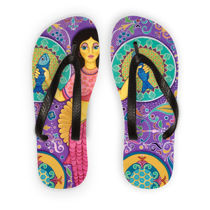 SPANISH MERMAID Adult Flip Flops