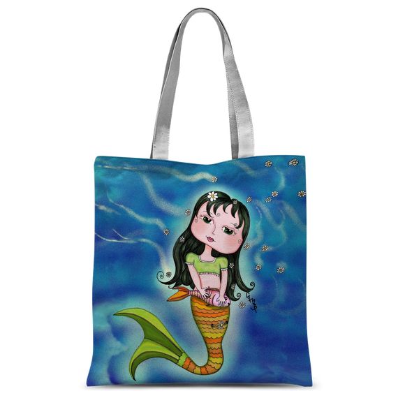 ADRIANA MERMAID Classic Sublimation Tote Bag