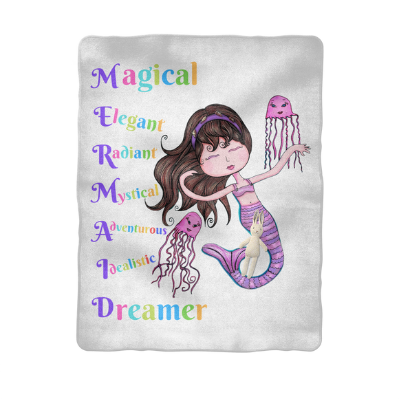 MAGICAL ELEGANT Sublimation Baby Blanket