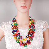 Ethnic Coconut Shell Necklace