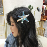Starfish Shell Hairpin