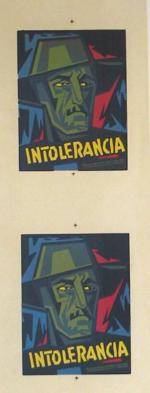 Cartel - Mini Intolerancia