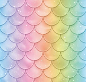 Fish Scales Pearl Wall Backdrop