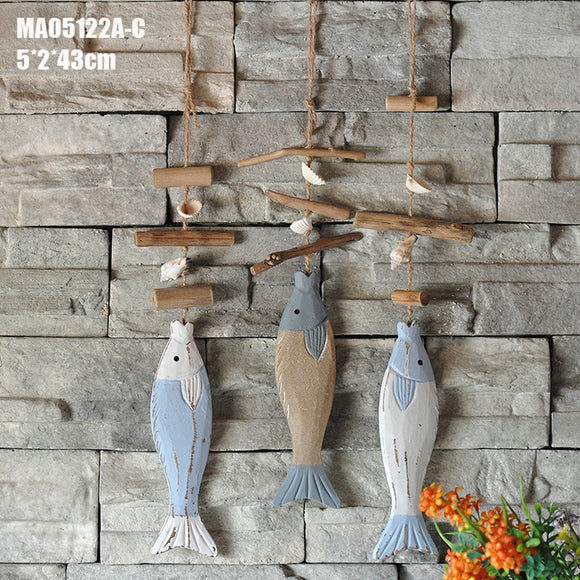 Decorative Wooden Fish Hangings