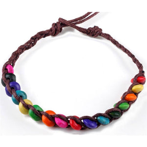 10 Pcs Handmade Wood Beads Bangles