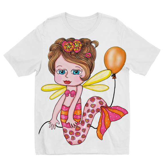 NELLY SIRENA Sublimation Kids T-Shirt